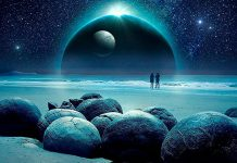 Representación de una Súper-Tierra que puede albergar vida