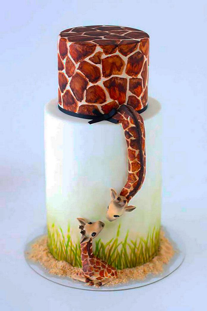 Tarta de jirafas