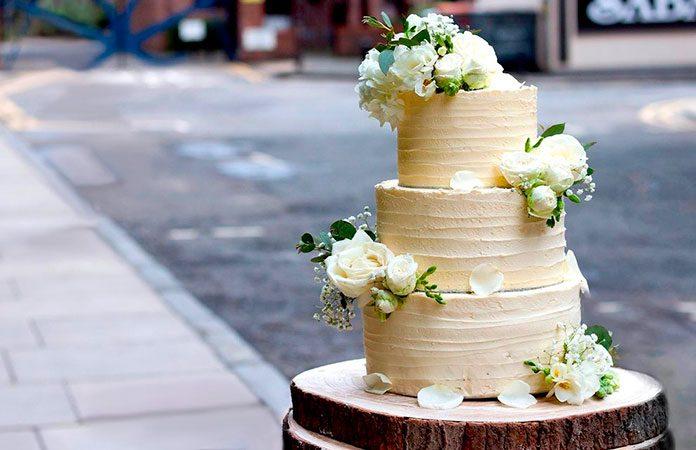 Versión vegana de la tarta de boda de Harry y Meghan