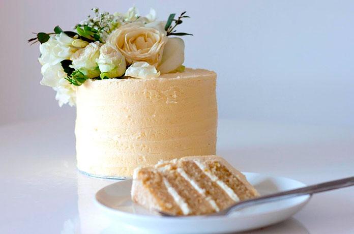 Tarta de boda de Harry y Meghan de limón y flor de saúco