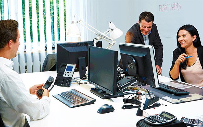 Telefonía en la nube NFON oficina