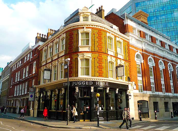 The Jugged Hare, Londres