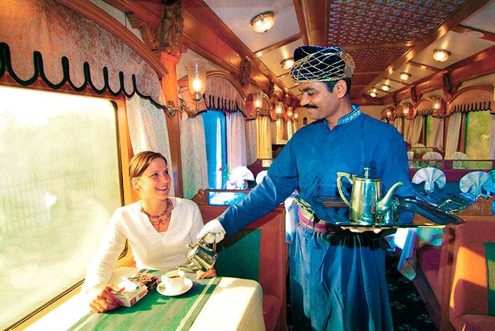 Restaurante del Deccan Odyssey
