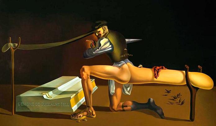 El enigma de Guillermo Tell, Dalí.