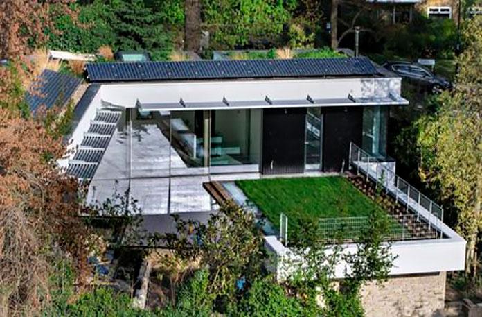 """Casa ecológica """"The Pavilion"""""""