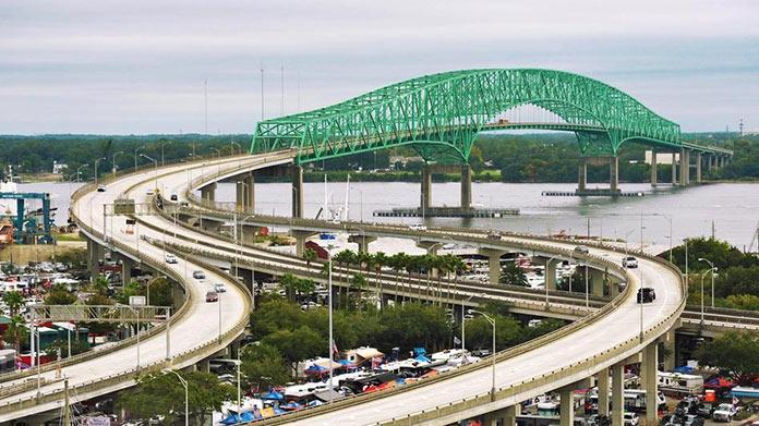 Tipos de puentes: puentes de armadura - Puente de Hart