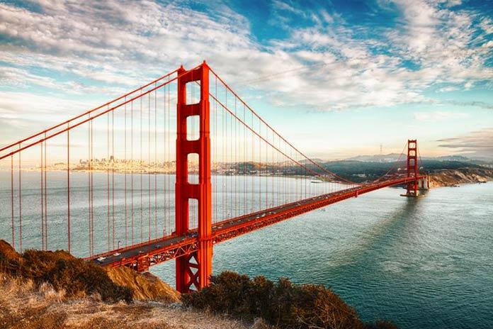 Tipos de puentes: puentes colgantes - Golden Gate
