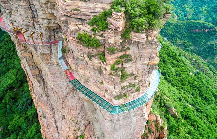 Tipos de puentes: East Taihang Glasswalk