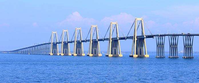 Tipos de puentes: puentes de hormigón - Puente General Rafael Urdaneta
