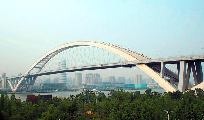 Tipos de puentes: puentes metálicos - Puente Lupu