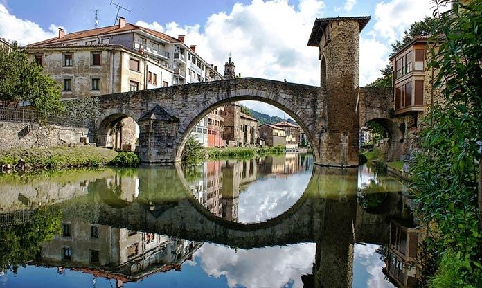 Tipos de puentes: puentes de piedra - Puente de la Muza