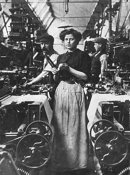 Trabajadora de una lavandería