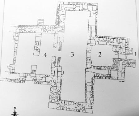 Las transformaciones del baptisterio de la Almoina