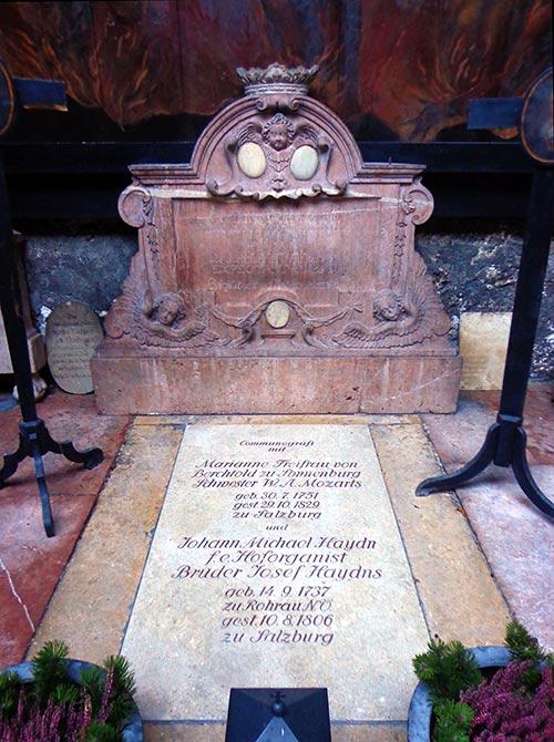 Tumba de Maria Anna Mozart