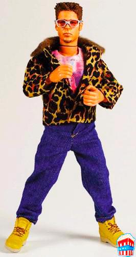 Muñeco de Tyler Durden de El Club de la Lucha