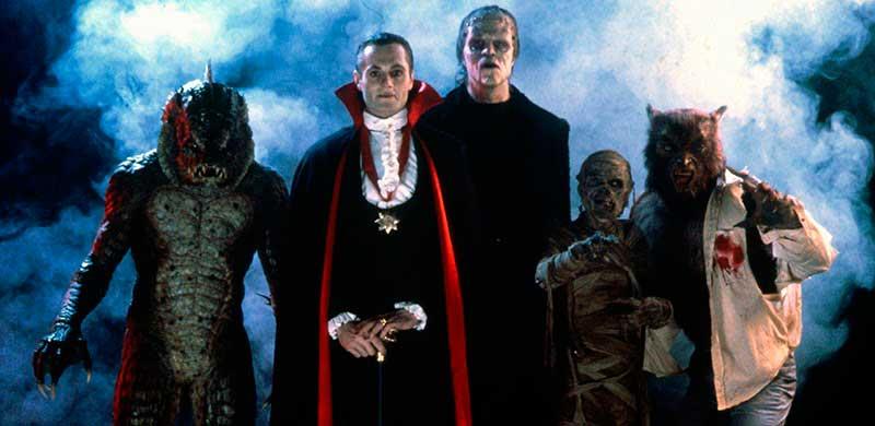 Personajes monstruos de la película Una Pandilla Alucinante
