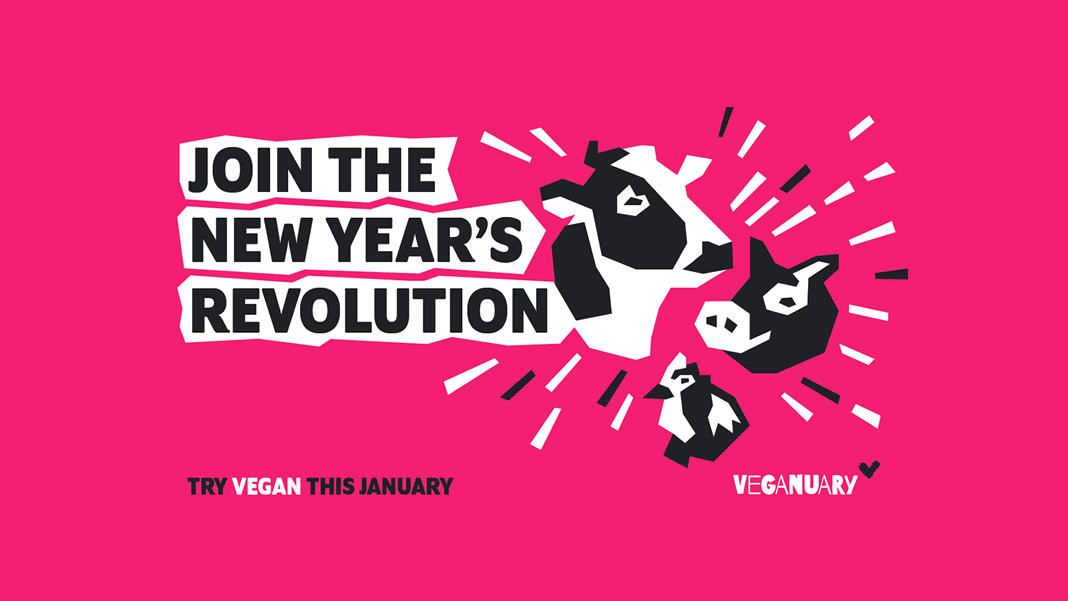 Veganuary 2020 no solo salvará a más de un millón de animales
