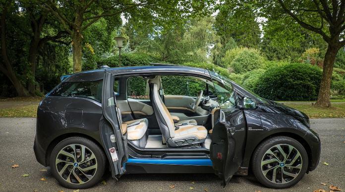Vehículos eléctricos: BMWi3