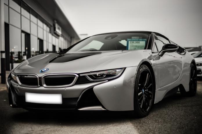 Vehículos eléctricos: BMWi8