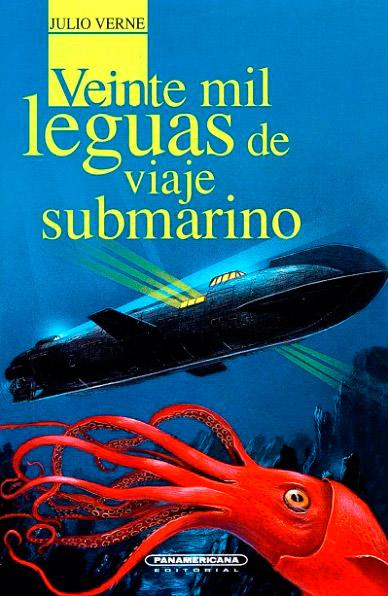"Portada de ""Veinte mil leguas de viaje submarino"""