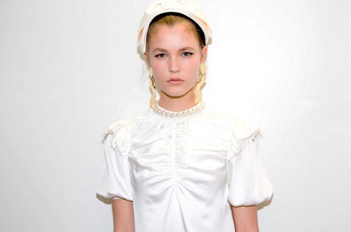 Pearly Whites: los impactantes vestidos ecológicos para novias.