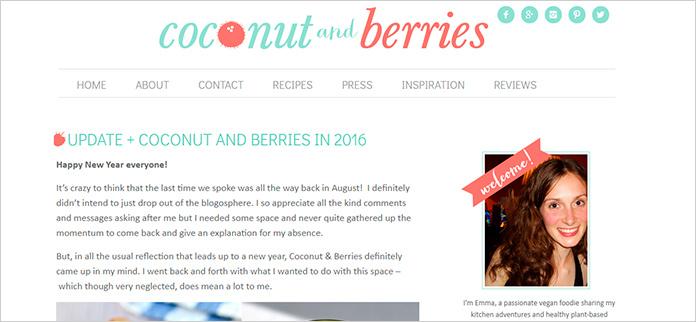 Web Coconut & Berries