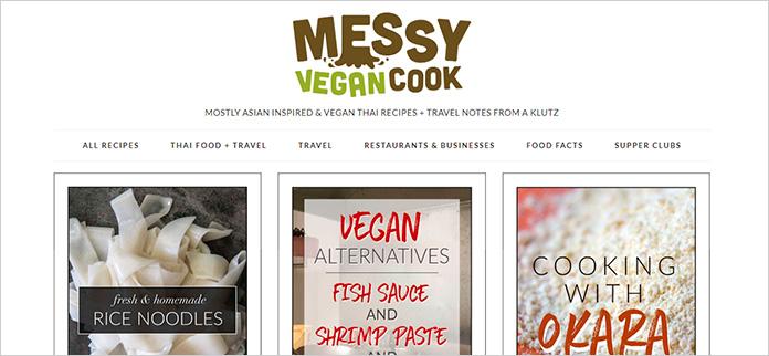 Web Messy Vegan Cook