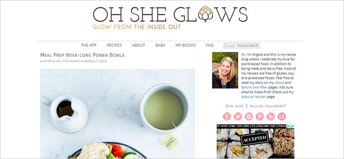 Web Oh She Glows
