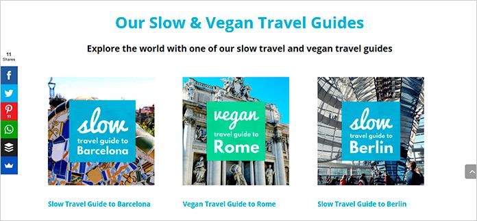 Web Slow Vegan Travel
