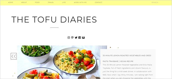 Web The Tofu Diaries
