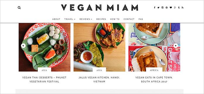 Web Vegan Miam