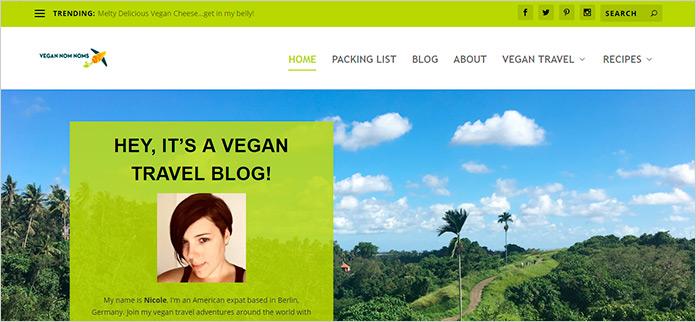 Web Vegan Nom Noms