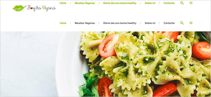 Web Boquita Vegana