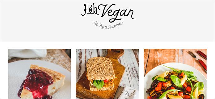 Web Hola Vegan