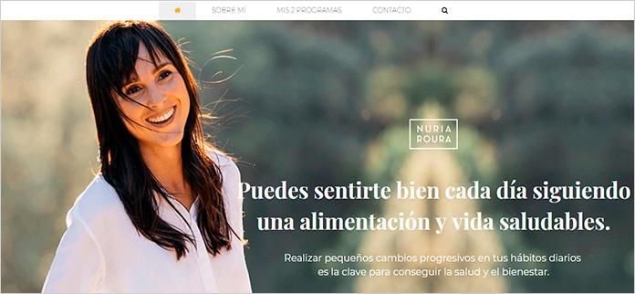 Web Nuria Roura