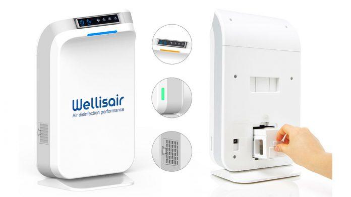 Dispositivo purificador de aire Wellisair